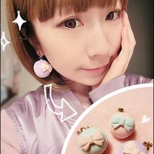 Macarons earrings